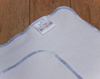 Cloth diaper insert / trifold insert / diaper insert / organic hemp-bamboo chloth diaper insert