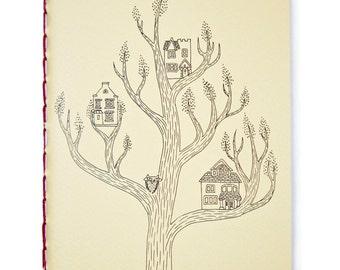 "Tree House - 5"" x 7"" Notebook"