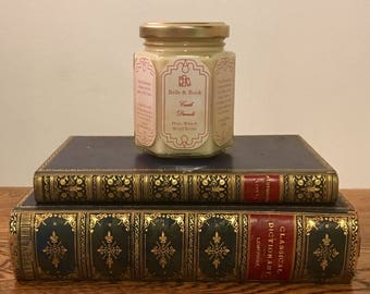 Castle Dracula: Plum, Wine & Wood Smoke - Literature Lover Natural Scented Soy Candle - Dracula - Bram Stoker
