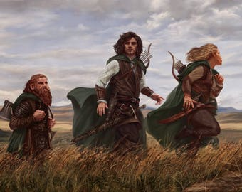Road to Rohan - limited edition print