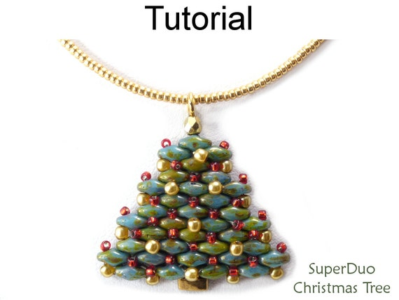 00d47ab3e79422 Super Duo Bead Patterns Christmas Jewelry Making Tutorials