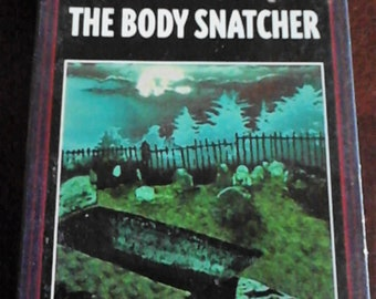 Vintage Audio Book 2 Cassette The Body Snacher  3 Hour Runtime SCI - FI  Science Fiction Thriller 1996  by Robert Louis Stevenson