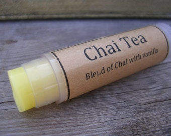 Chai Tea Natural Lip Balm