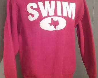 Vintage Sweater Austin Texas Party Animals / Let's Party! New Old Stock NOS NWT Lifestyles Tradition Sportswear Anvil 50/50 Poly Cotton 8BABz