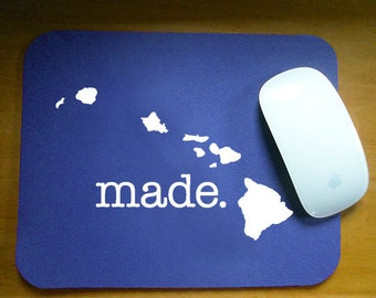 Hawaii HI  'Made' Computer Mouse Pad
