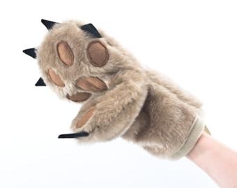 Pot Holder, Bear Paw Oven Mitt, Kitchen Glove