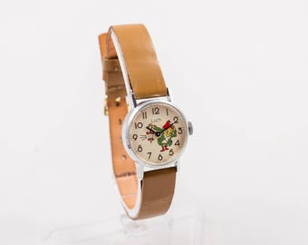 children mickey watches on brand waterproof mouse boy best girl quartz watch wristwatch clocks disney head fashion images band lost and suppliers pinterest s original cartoon leather black