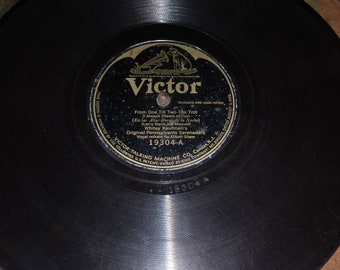 "1908 Phonograph ""Charleston Cabin Fox Trot"" and ""From One till Two Fox Trot"""