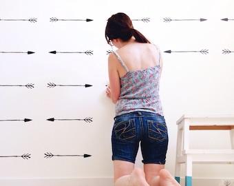 Arrow Wall Stickers - Arrow Wall Sticker Decals -  Vinyl Arrow Wall Stickers - 0040