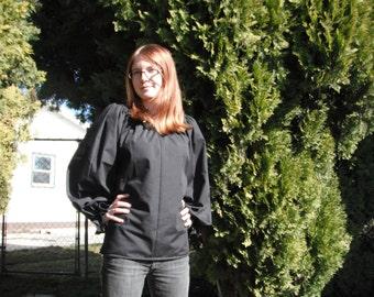Womens (XS, S, or M)Assorted Colors Renaissance Faire long sleeve Chemise blouse