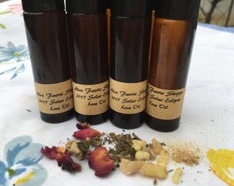 2017 Solar Eclipse Love Herbal Oil - 10ml Amber Roller