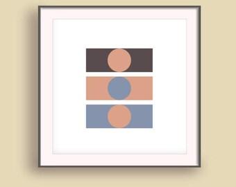 Extreme minimalism, Wall art livingroom, Office decor picture, Master bedroom decor, Nordic poster print, Minimalist artwork