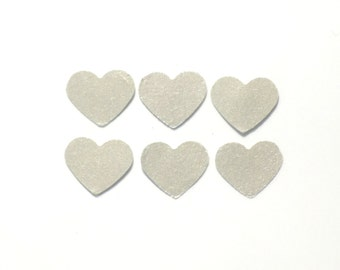 silver heart confetti, heart confetti, party confetti, wedding confetti, wedding decor