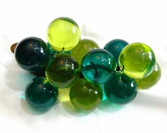 VINTAGE GLASS cLUSTER oF BALLS