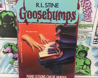 Goosebumps #13 - Piano Lesson Can Be Murder - R.L. Stine - Young Adults