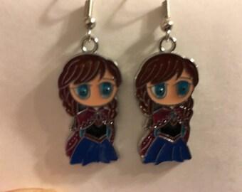 Anna Frozen Earrings   A54