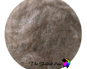 Needle Felting Wool Batt / NR5 Country Mouse Carded Wool Batt