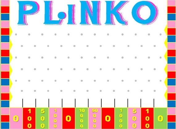 Plinko Powerpoint Game Template