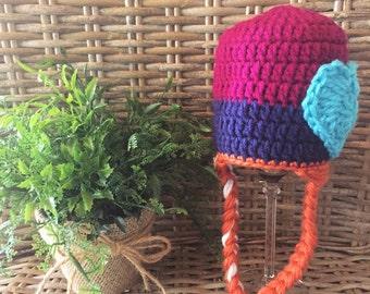 Frozen Inspired Anna Crochet Hat