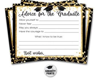 Graduation Advice Cards 30 Pin