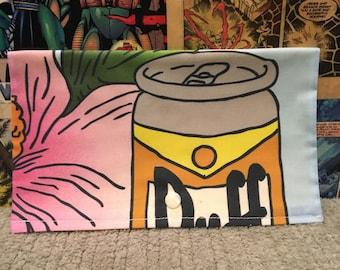 Simpsons Duff Beer Clutch