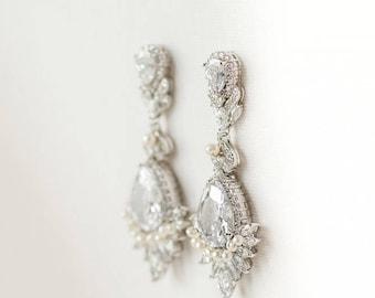 Wedding Earrings Etsy