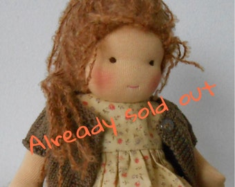 waldorf doll, waldorfdoll, Waldorf dolls, incl. suitcase, ALREADY SOLD OUT!