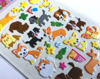 Sticker set dog dogs! (A1076)