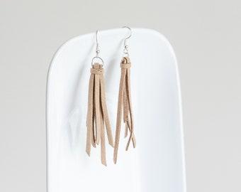 Tassel Suede Earrings