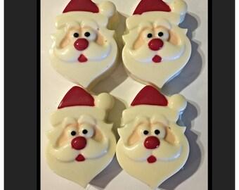 Santa Claus Christmas Chocolate covered oreos, Santa Oreos