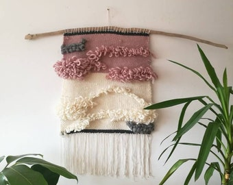 Woven tapestry|Weaving|Wallhanging|Woven wallhanging|Wall decor|Home decor|Modern woven wallhanging
