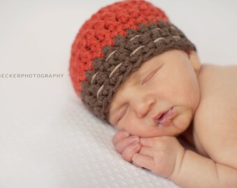 newborn boy hat, newborn hat,  baby boy hat,  baby boy hat,   boys hat,   crochet boys hat, little boys hat, crochet burlap baby hat