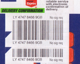 EXTRA Postage Option - Airsure Tracked Postage Add-on for International Orders
