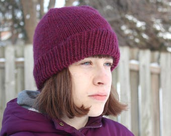 Simple Knit Hat Pattern