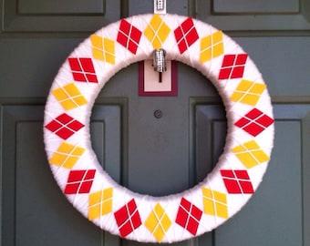 "Kansas City Chiefs Wreath - 16"""