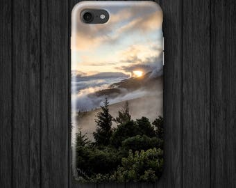 Forest and Mountains iPhone Case, Samsung Galaxy Case, iPhone 8 Case, iPhone 6 case, iPhone 7 Case, Samsung Case, Galaxy s8, Phone Case R46