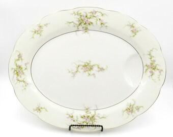 Haviland, Theodore Haviland, Haviland China, Haviland Rosalinde, Vintage Serving Tray, Serving Platter, Serving Tray, Platter