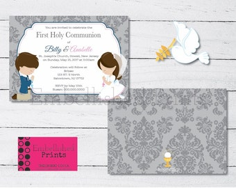 FIRST COMMUNION INVITES