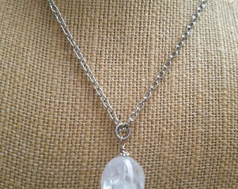 Quartz Balance and Harmony Necklace