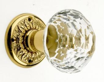 Crystal door knob