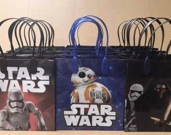 Star Wars goodie favor treat bags