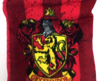 Gryffindor Harry Potter Fleece Reversible Snuggle Sack for Hedgehogs, Rabbits, Guinea pigs, Sugar Gliders, Hamster and Small Reptiles.
