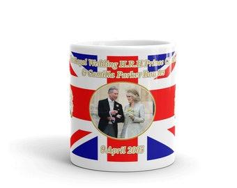 Charles And Camilla Wedding Mug