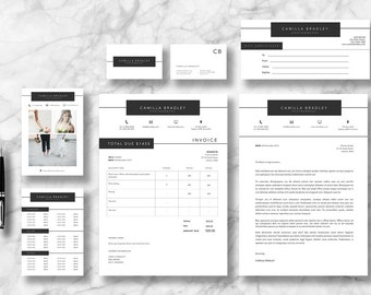Bradley Marketing Kit | Marketing Package | Marketing Set | Business stationery