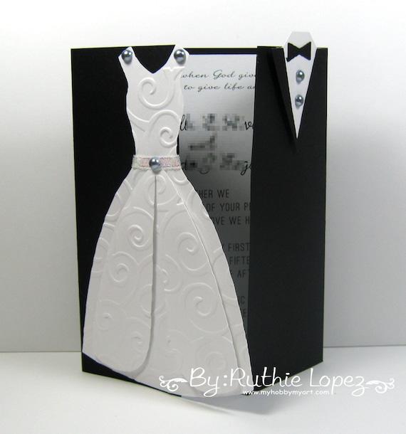 Items similar to Bride and Groom Wedding Invitation Romantic