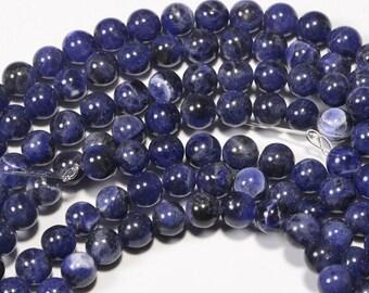 Sodalite 6mm  Natural Sodalite Gemstones Jewelry Making Supplies
