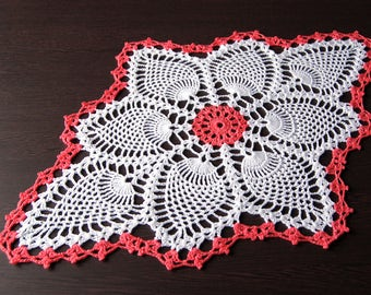 Crocheted Doily Home Decor Dinning Decor Shabby Chic Lace Doily Table Topper Table Decoration Knit Decor SALE Table Decor Table Centerpiece