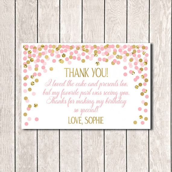 4x6 Thank You Cards Personalized Thank You Cards Custom Thank