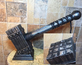 Unique hammer, viking tools, home decor, Christmas gift, viking hammer, medieval gift,mens gift, iron gift for him, military gift,iron gifts