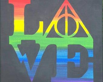 HP Rainbow Love